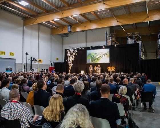 400 bezoekers inspireren elkaar op Ecomunitypark