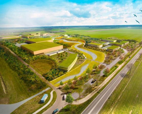Ecomunitypark ontvang vijf sterren BREEAM-NL gebiedscertificaat